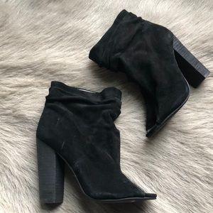 New Kristin Cavallari Black Laurel Booties 6 36.5